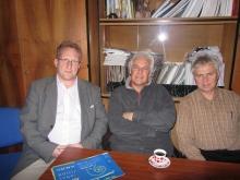 2010. december 2. - Gilbert Varga látogatása